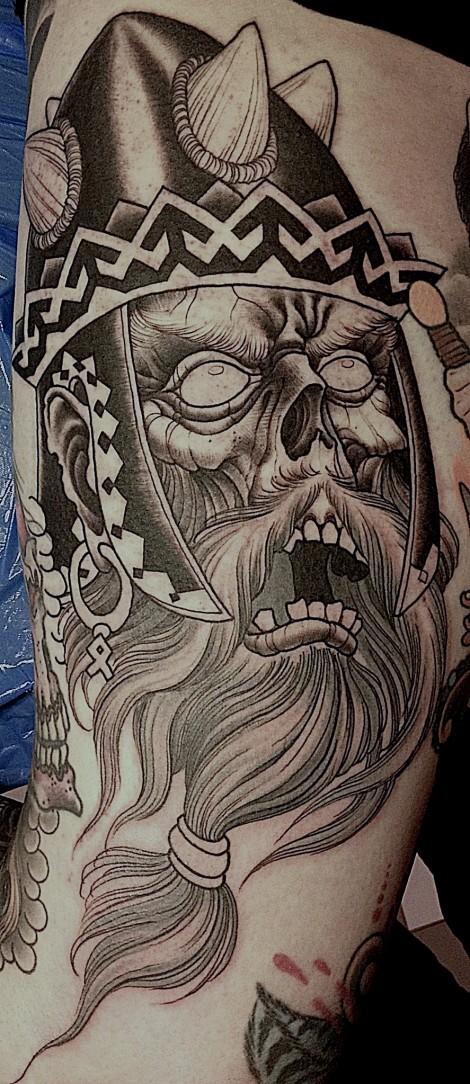 Let 39 s get tatt 39 n for Skeleton king tattoo