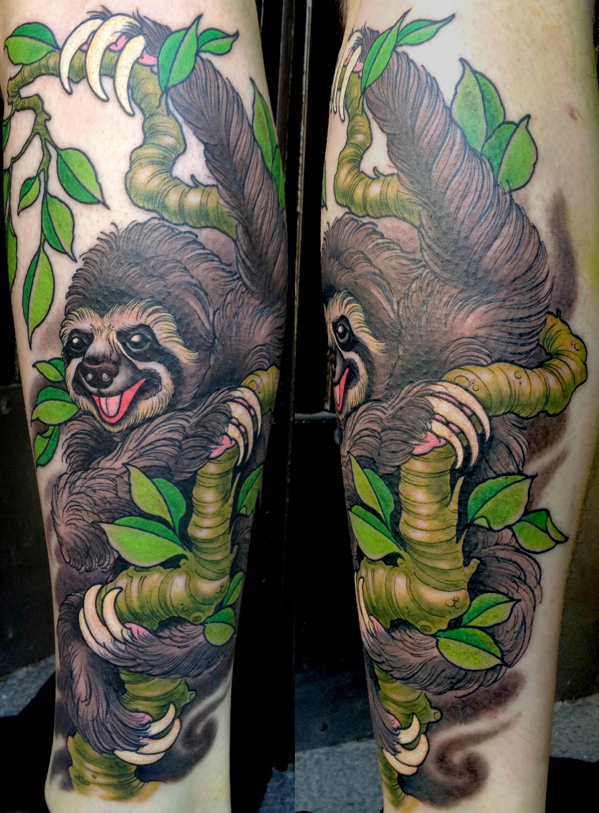 sloth time let 39 s get tatt 39 n. Black Bedroom Furniture Sets. Home Design Ideas